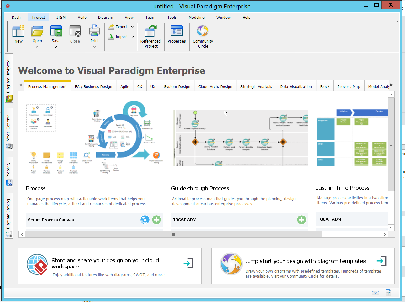 Working with Visual Paradigm Enterprise 15.2 full