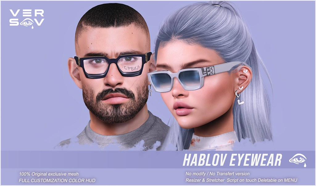 [ Versov // ]  HABLOV glasses available at LEVEL !