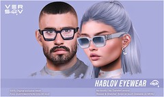 [ Versov // ]  HABLOV glasses available at LEVEL !