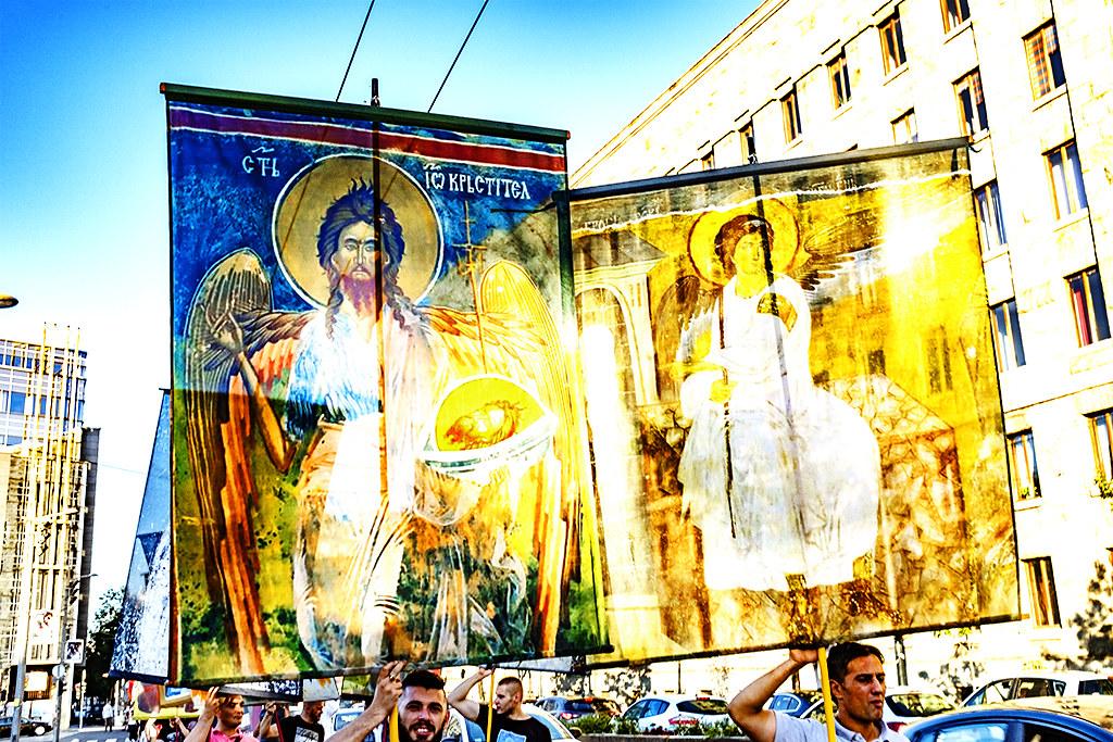 Religious procession on 8-1-20--Belgrade 5