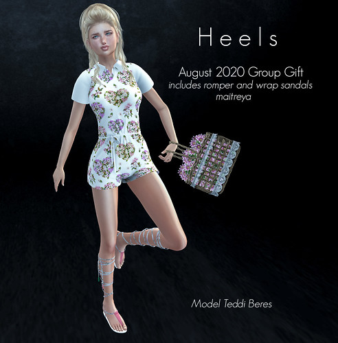 Heels August 2020 Group Gift NOW AVAILABLE