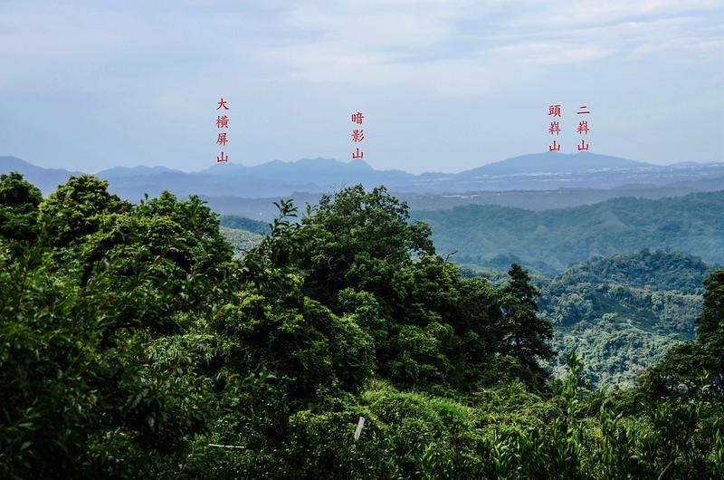 蘇魯山東峰登山口西南遠眺