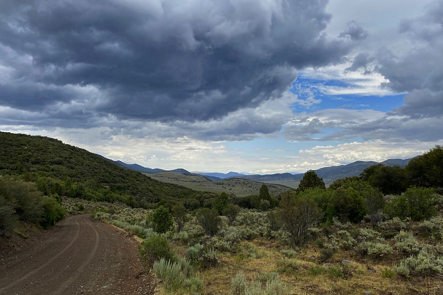 Upper Bear Valley from the Old Spanish Trail