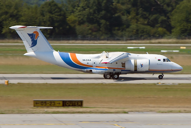 5A-CAA, Antonov An-74TK-300, Lybia-Directorate of Civil avation