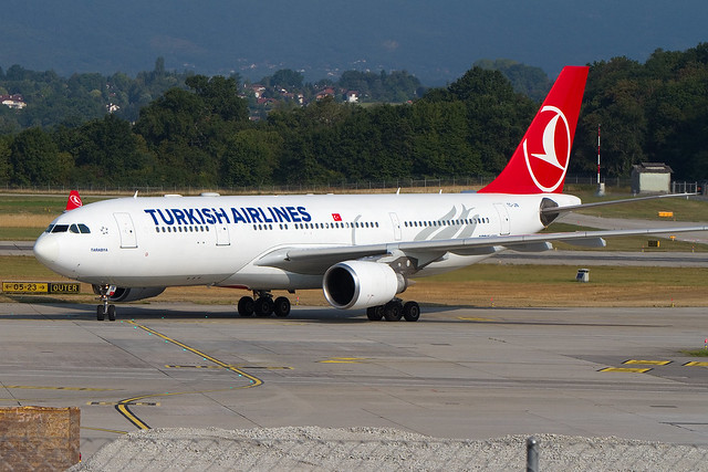 TC-JIN, Airbus A330-203, Turkish Airlines
