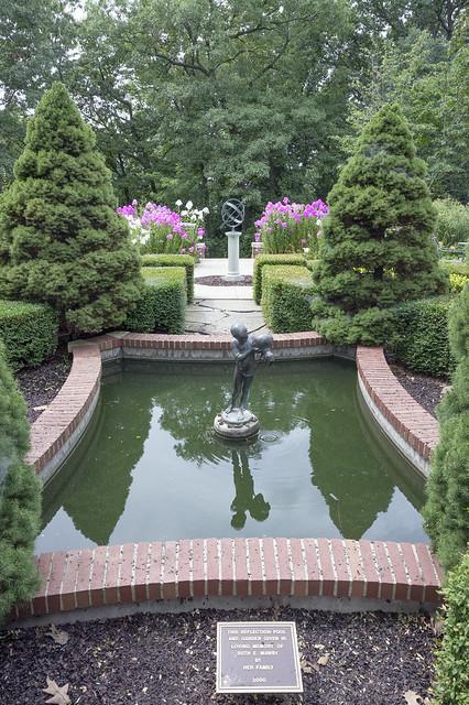 Kellogg, Reflection Pool & Garden