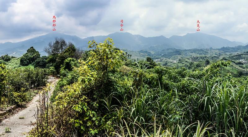 苗圃中心山東峰(雙連山)東邊展望馬克連稜 1