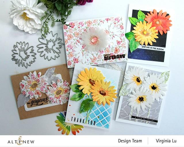 Altenew-Craft-a- Flower Daisy-809