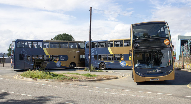 Stagecoach West 'Gold' Enviro 400 VX61 FJV 15765 , Gipsy Patch Lane Patchway 1.8.20