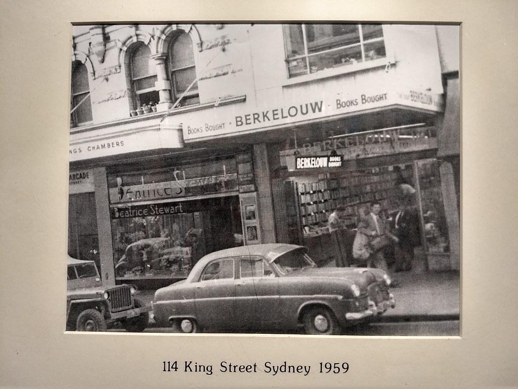 Berkelouw books 114 king st sydney