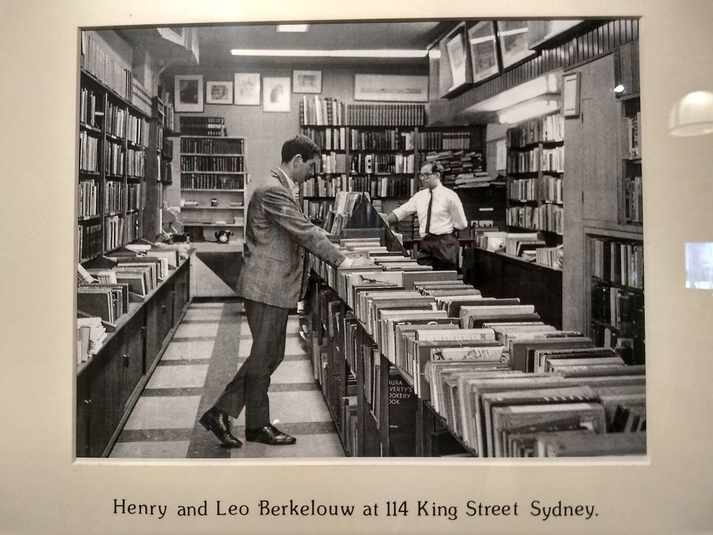 Berkelouw books 114 king st sydney