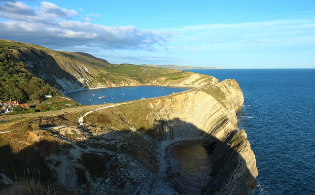 Lulworth Cove, Dorset, Jurassic coast