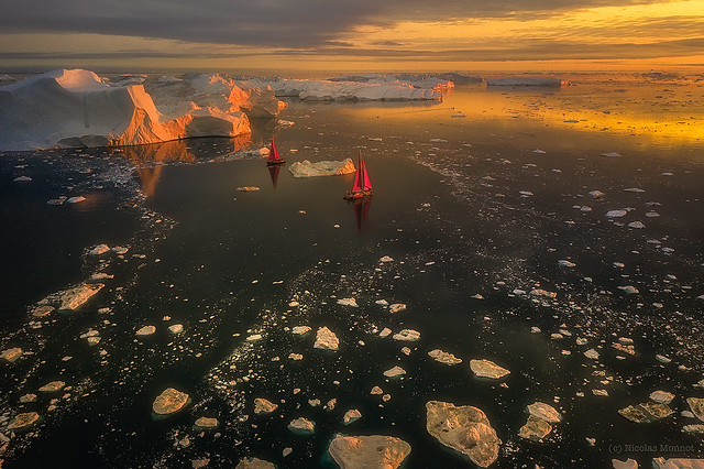 Sailing in the Ice & Fire