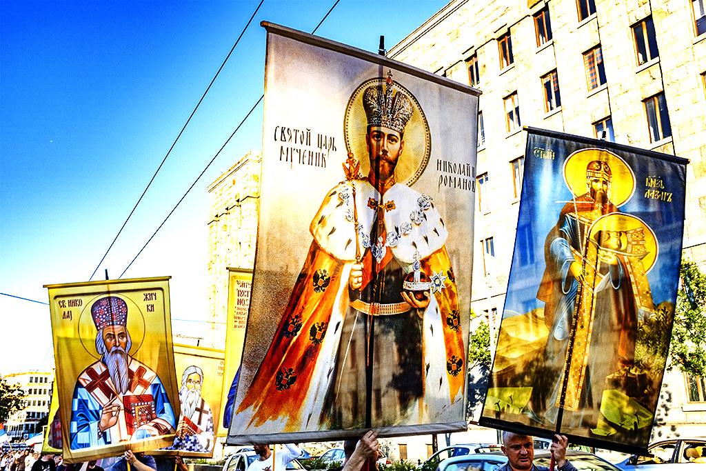 Religious procession on 8-1-20--Belgrade 6