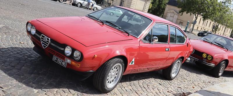 Alfa Romeo Alfetta 2000 GTV 1978 -  Paris Vauban Août 2020 50179431183_3fd9d7c42a_c