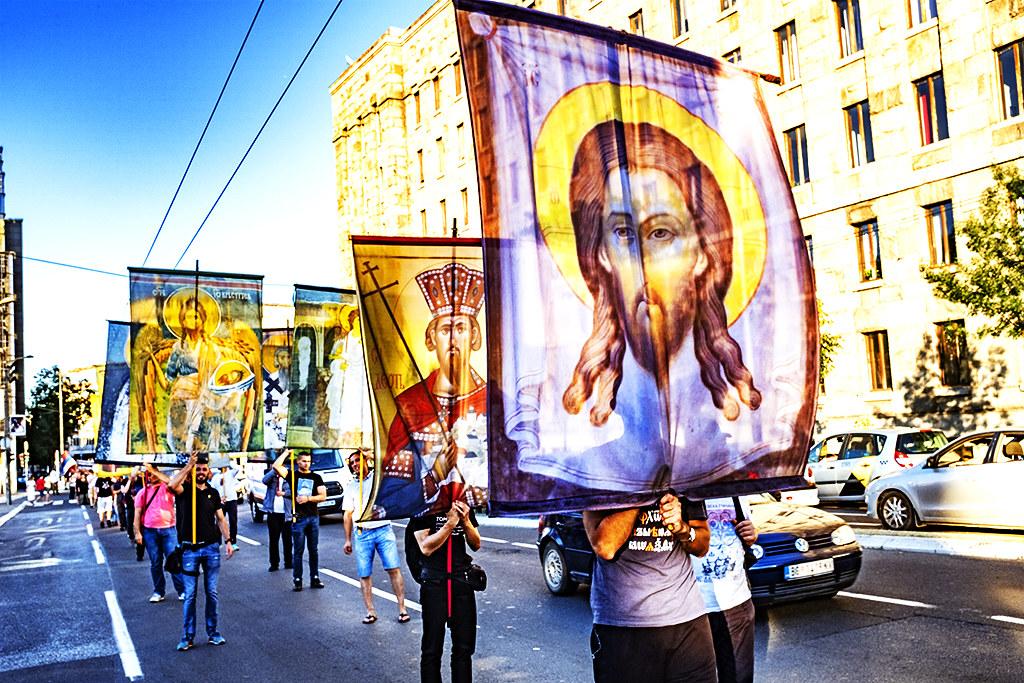 Religious procession on 8-1-20--Belgrade 7