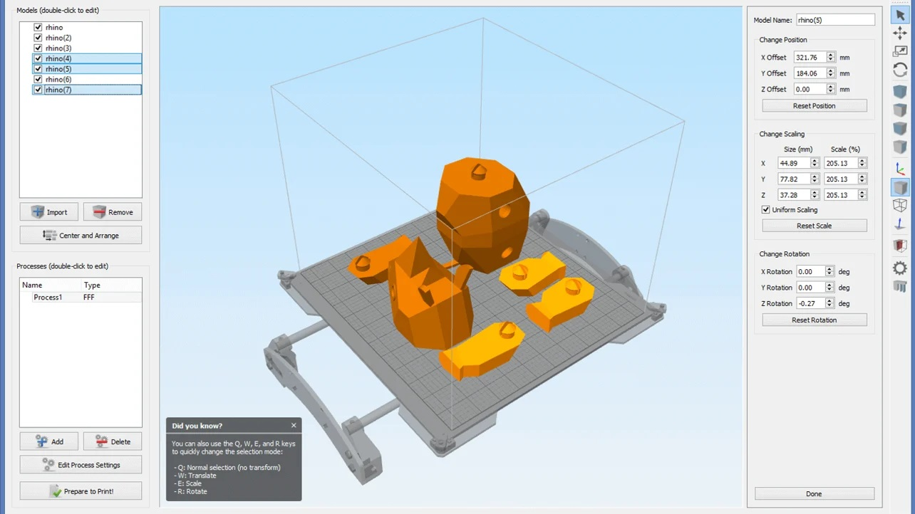Working with Simplify3D 4.1.2 full license