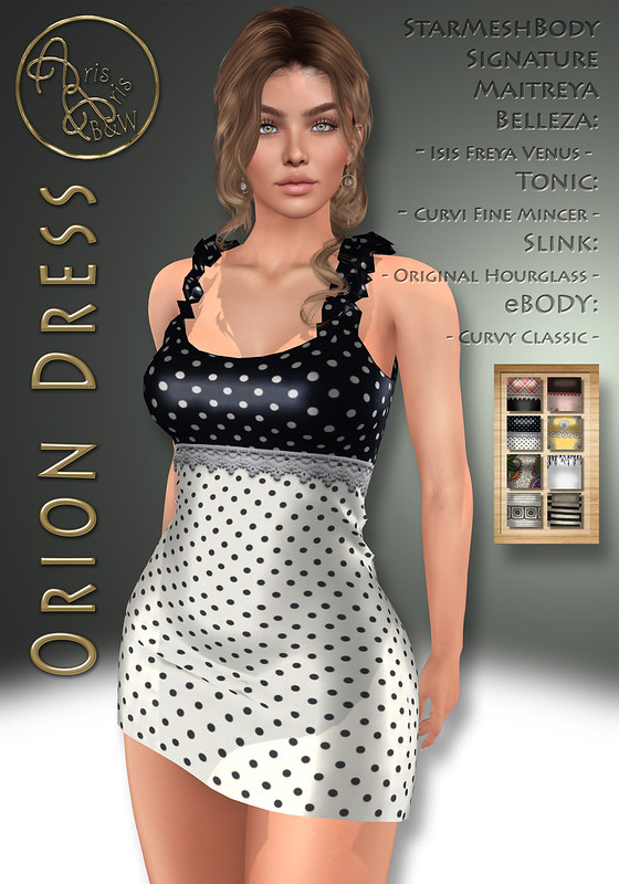 ArisArisB&W~CoAl98~Orion Dress~VENDOR