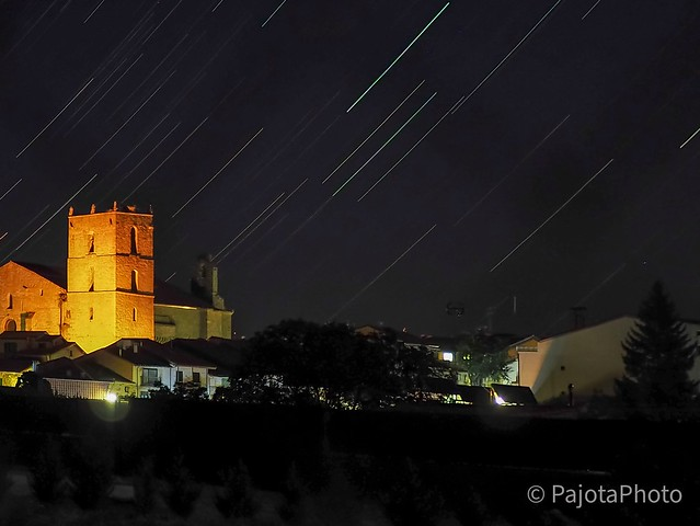 Stars over the church