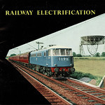 Sun, 2020-08-02 09:39 - Nothing like a snapping title for a trade association and to be fair, the British Electrical and Allied Manufacturers' Association (Inc.) was better known as BEAMA. This booklet was issued, as publication number 176, in c1960 by their Electric Traction Section, and shows examples of railway electrification both here in the UK and abroad that had been delivered or supplied by UK manufacturers.   The cover photo shows the then most 'modern' of British Railways electrification schemes, the first section of the Manchester/Liverpool - Crewe - London Euston electrification of the West Coast Main Line and that was underway in 1960. This was the first UK scheme to utilise the 25kv AC system (prior to this 1500v DC had been the intended 'standard') and the photo shows an AL1 type locomotive that appears to be E3001 delivered in 1959 and used for test trains. Built for BR by AEI (at the Birmingham RCW) it later become Class 81001. It looks very fine in the electric blue with cast numerals and logos.   The image also shows the then new Jodrell Bank telescope, constructed for Manchester University in 1957 and now formally known as the Lovell Telescope after after Sir Bernard Lovell (1913 - 2012), the pioneering physicist and radio astronomer. Such symbols of modernity!  Although the headcode shows T191 I suspect this photo was taken much at the same time as another PR shot that appears in the BTC's own magazine for 1960.