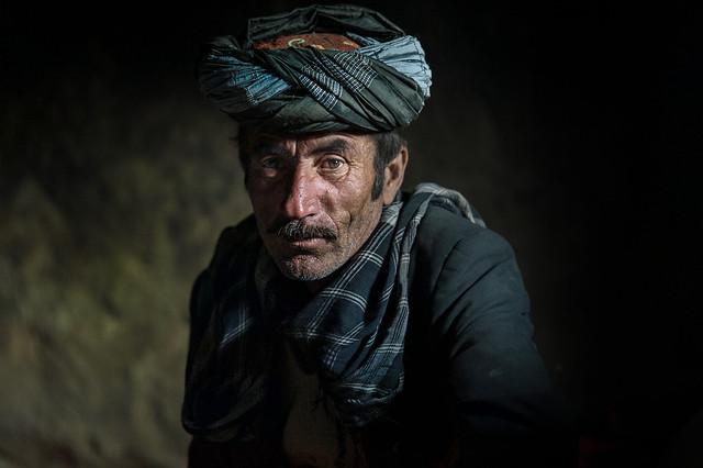 Wakhi man, Afghanistan, hindukush rage
