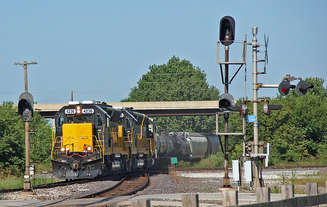 Touching Three Railroads
