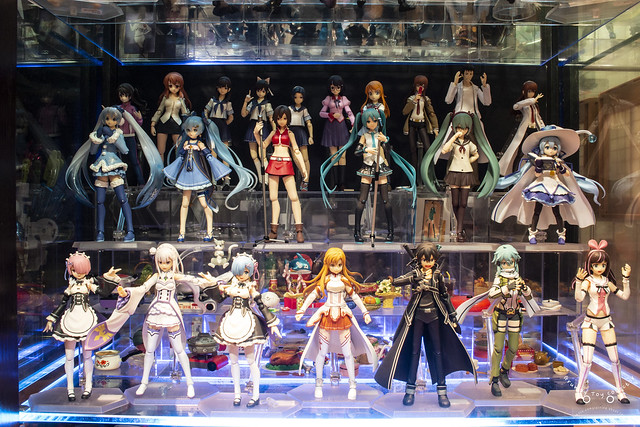 School kid, Vocaloid and Anime