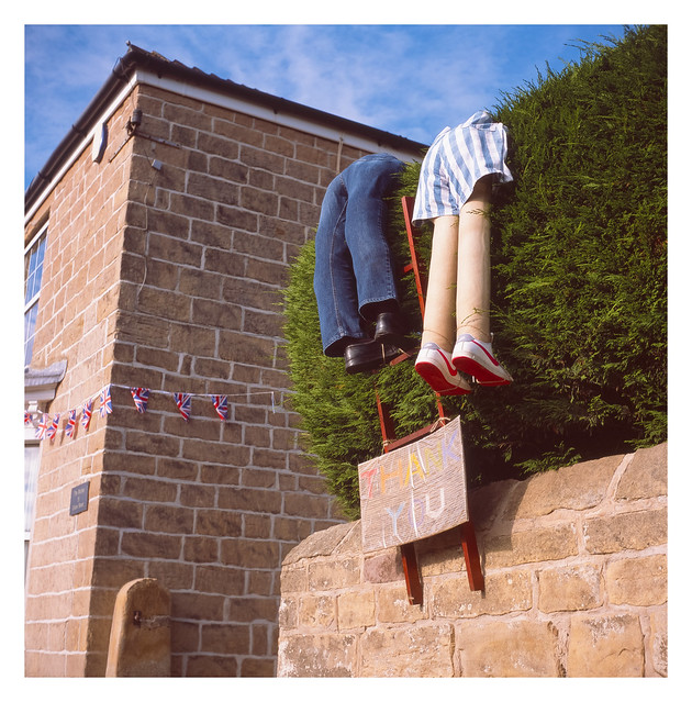 Harthill scarecrows