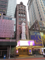 2020 New Amsterdam Theatre Marquee 42nd St NYC 1776