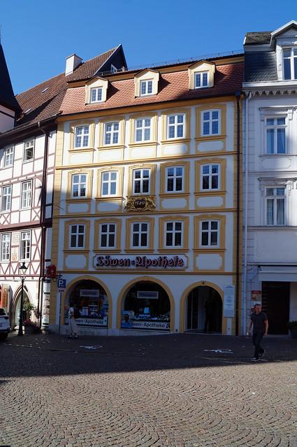 2020-07-21 160; Deutschlandtour; Fulda, Löwenapotheke