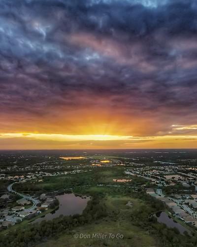 dronephotography dji mavicair2 sunset skypainter