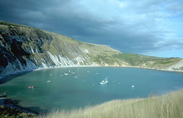 Lulworth Cove, Dorset, Jurassic Coast, UK