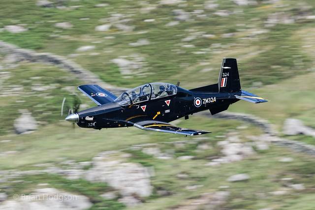 ZM324  '324'  Texan T1  RAF  72 Sq  Unmarked
