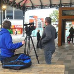 Filming at Preston Market