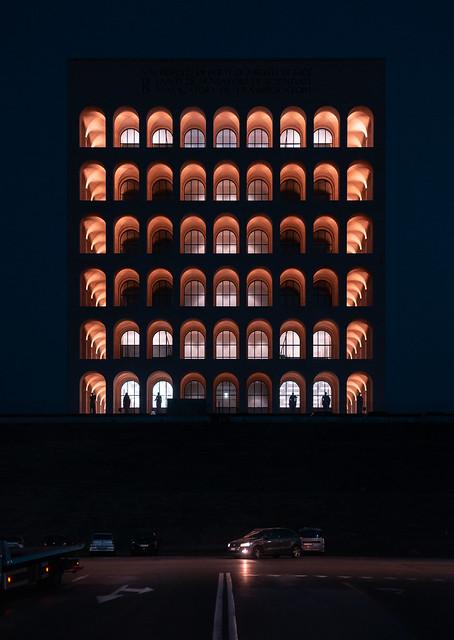 Square Colosseum, Municipo XI, Rome
