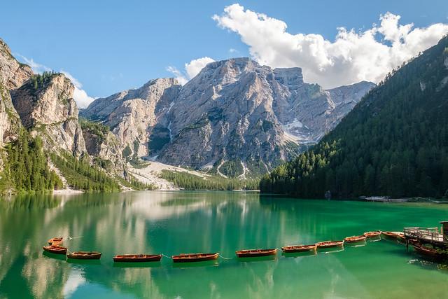 Summer at Lago di Braies
