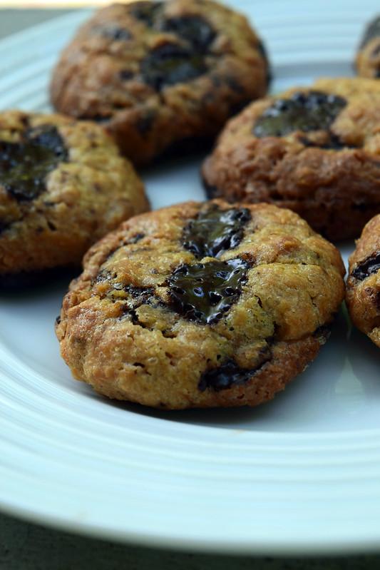 Cookies au beurre de cacahuètes et flocons d'avoine (healthy cookies)3
