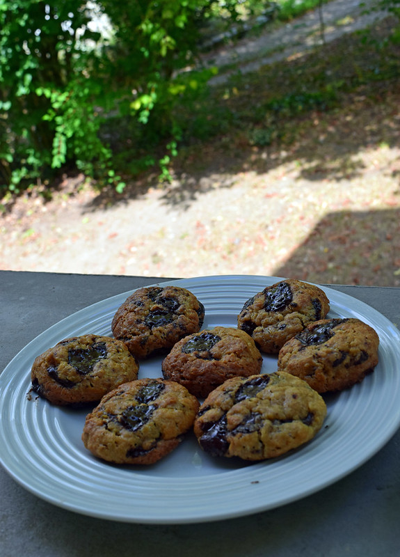 Cookies au beurre de cacahuètes et flocons d'avoine (healthy cookies)2