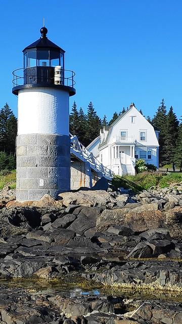 Marshall Point Lighthouse. St. George Maine