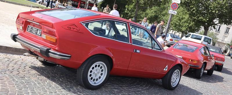 Alfa Romeo Alfetta 2000 GTV 1978 -  Paris Vauban Août 2020 50180220142_4944de8cf2_c