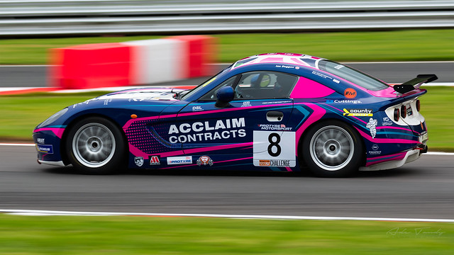 8 Fox Motorsports Ginetta GT5 Challenge
