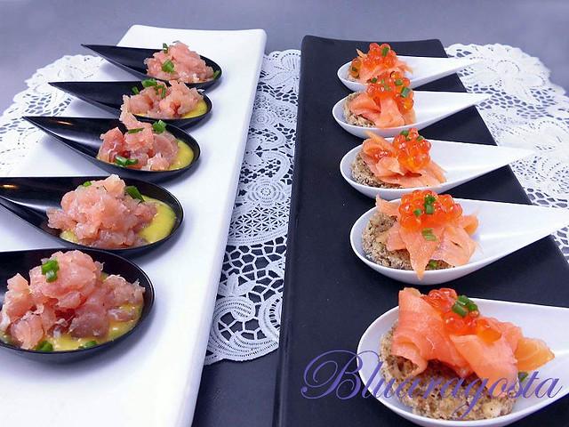 02-finger food di tonno e salmone