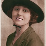 Edith Johnson colorized