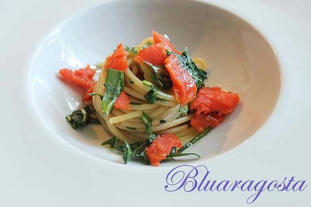 05-spaghetti rucola e salmone marinato