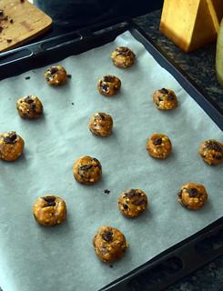 Cookies au beurre de cacahuètes et flocons d'avoine (healthy cookies)