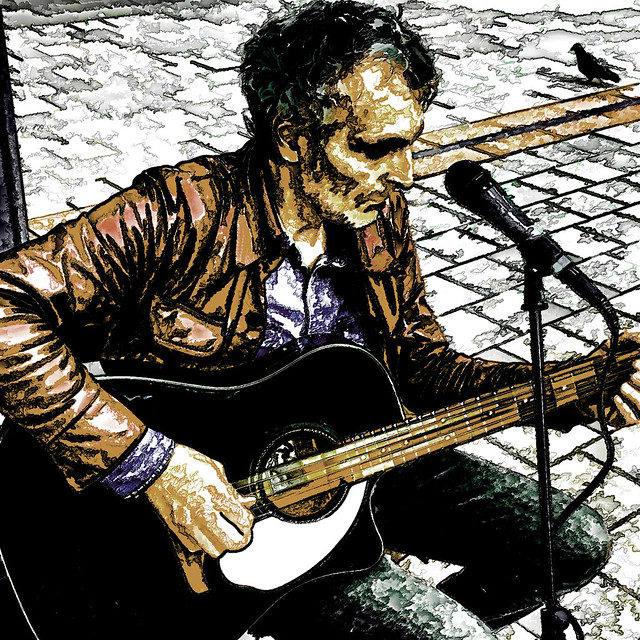 the guitar man and the dove II