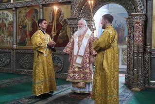 02.08.2020 | Божественная литургия в Иверском монастыре