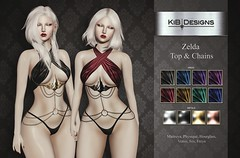 KiB Designs - Zelda Top and Chains@Darkness Event