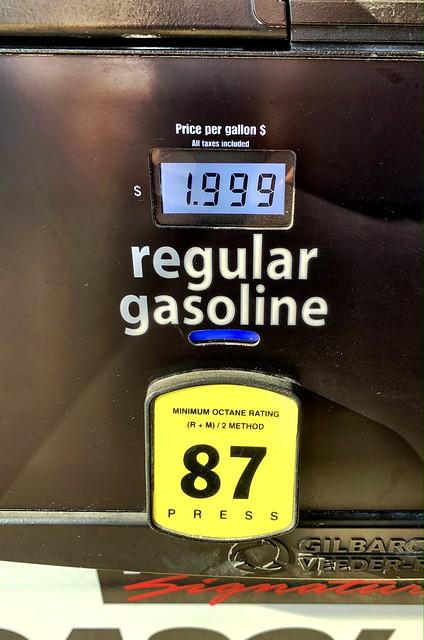 $1.999/gallon - Costco Gas Station Sterling Virginia
