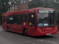 A short route with a mostly old allocation that is a half and half mix of residential housing and main roads. | Arriva South London ADL Enviro 200 Dart on the 255 to Pollards Hill.
